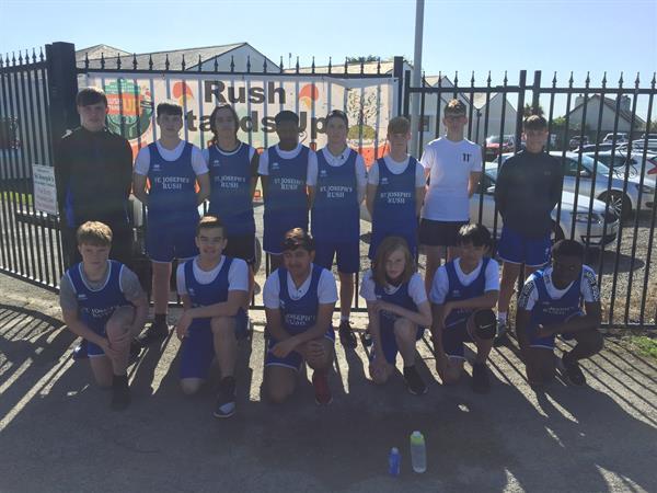 St Joseph's VS Portmarnock u16s Basketball