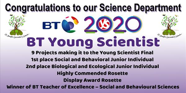 2020 BT Young Scientist