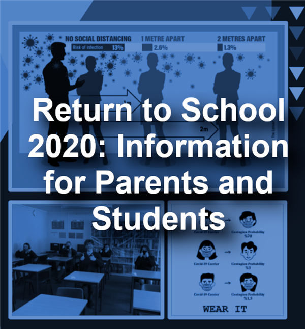 Return to School 2020: Information for Parents and Students