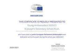 A message from our 2021 EU Young Ambassadors