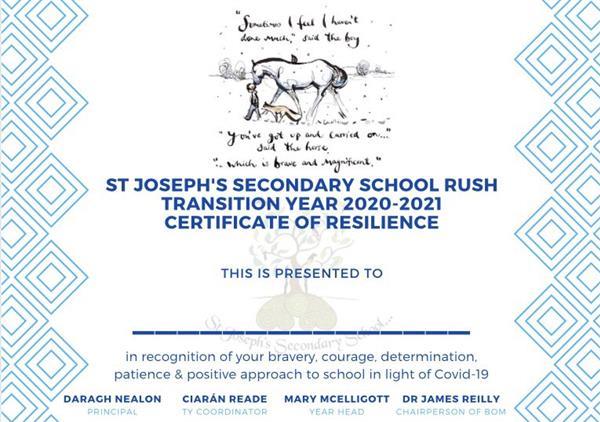TY Graduation 20th May 2021
