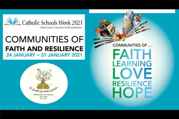 Catholic Schools Week Sunday 24th to Sunday 31st January 2021