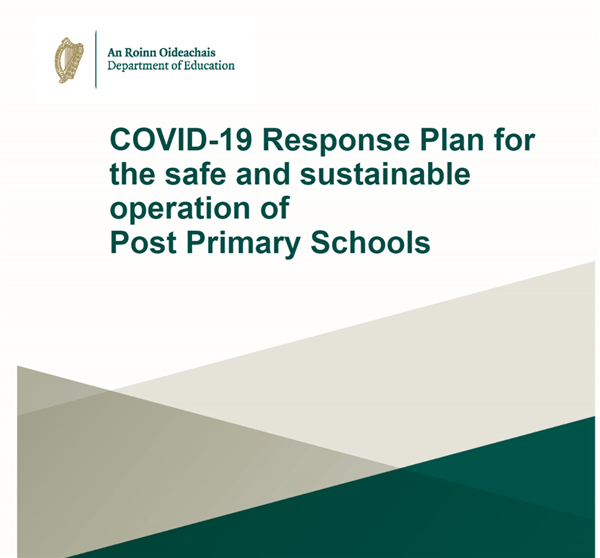 St Josephs' Secondary School's Response Plan Sept 2021