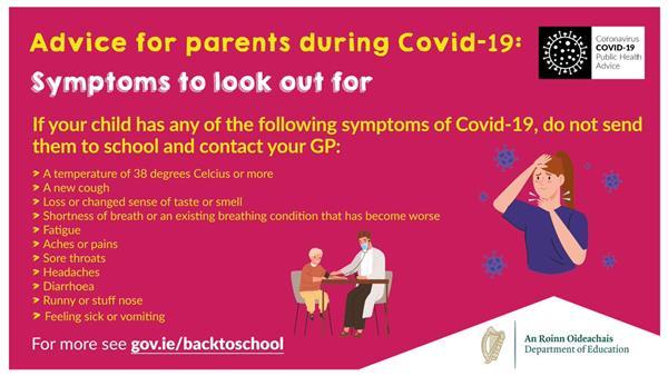 COVID-19 Symptoms :A Guide for Parents