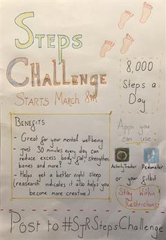 8,000 per day steps challenge #SJRStepsChallenge